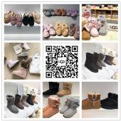 专供微商UGG雪地靴货源豆豆鞋男士鞋靴 儿童鞋免费代理/一件代发图片