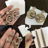 纯银首饰工厂大牌银饰品加工一手货源CHANEL