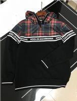 杜嘉班纳Dolce&Gabbana长袖带帽卫衣拼色高档男装