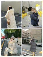 网红安娜家爆款时尚冬季白鸭绒羽绒服