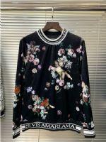 杜嘉班纳Dolce&Gabbana18真丝绒卫衣男装