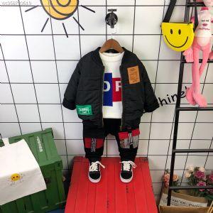 高品质韩版男童休闲运动羽绒棉服外套
