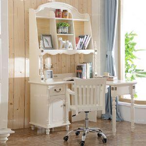 杂物架弯转柜桌 钦州转角学习桌 贺州书卧板家具