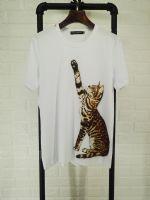 杜嘉班纳Dolce&Gabbana18新款短袖T恤招财猫