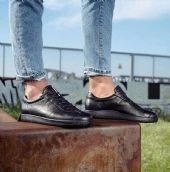 广东皮鞋货源 东莞原单外贸男鞋 女鞋爱步厂家,招代理商图片