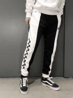 海外版万斯彩色3M反光棋盘休闲卫裤
