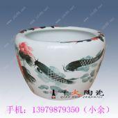 陶瓷缸厂家 养荷花养鱼大缸 青花大缸