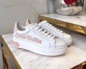 LV TIME OUT运动鞋Lv专柜爆版小白鞋工厂货源图片