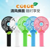 雪花USB风扇迷你小电风扇便携手持充电风扇批发