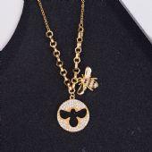 施华洛世奇小蜜蜂手链女 925纯银镶钻欧美隐形磁扣项链一件代发