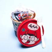 食人族酸辣粉130g方便粉丝网红微商零食休闲冲泡型清真食品包邮