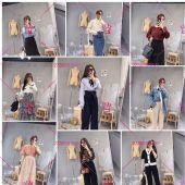 欧韩精品女装童装货源,厂家直销,微商一件代发,无需囤货图片