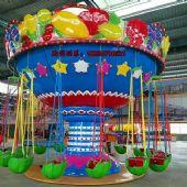 西瓜水果飞椅儿童室外小型游乐设施|嘉信游乐
