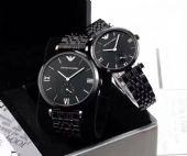 情侣手表精致做工风格时尚潮流口石英机芯矿物强化