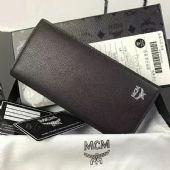MCM男士两折长款钱包 时尚潮流钱包男钱包