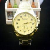 数字面钢带表韩版流行手表礼品表老人手表
