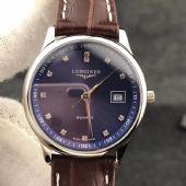 名匠系列男女士钢带情侣石英手表防水真皮表带手表