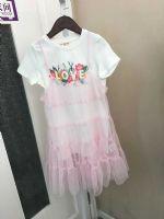 拉夏18夏季新款女童连衣裙两件套 面料超舒服超可爱