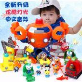 海底小纵队全套玩具声光章鱼堡潜水艇舰艇批发出售