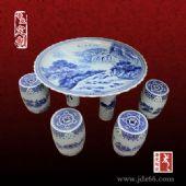 陶瓷桌凳批发 家居装饰陶瓷桌凳图片