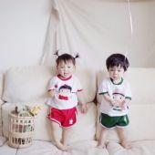 韩版亲子装微商童装代理,一件代发免费代理图片
