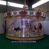 豪华转马游乐设施小型广场儿童乘坐玩具设施