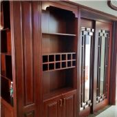 长沙实木全房家具设计、实木木门、衣柜门订做辉派位置