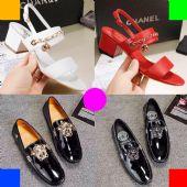 广州鞋厂批发大牌鞋子原单级L.V GUCC.I范思哲1:1一件发图片