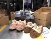 UGG*新款小兔女款豆豆鞋澳洲进口羊皮毛女士雪地靴懒人鞋