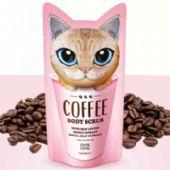 韩国正品CHOK CHOK初出猫咪咖啡身体磨砂膏批发代发图片