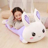 趴趴兔抱枕公仔毛绒玩具可爱粉大号玩偶趴着睡觉的枕头送女友