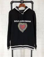杜嘉班纳Dolce&Gabbana18新款男装连帽卫衣爱心