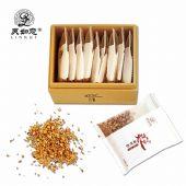 灵如意 菌草鹿角灵芝细茸颗粒 茶伴侣5g*10包/盒