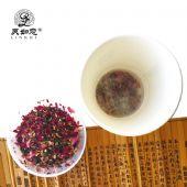 灵如意品牌 辣木茶 重瓣红玫瑰花茶 养生茶1.5g*10杯