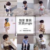 超火的韩国童装ins童装货源批发一件代发