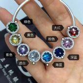 潘多拉*蒂芙尼宝格丽厂家定制纯银珠宝首饰工厂批发图片