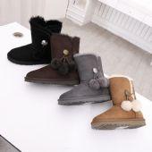 隆丰皮毛一体雪地靴