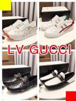 广州鞋厂批发大牌鞋子原单级L.V GUCC.I范思哲1:1一件发