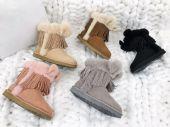 UGG皮毛一体雪地靴