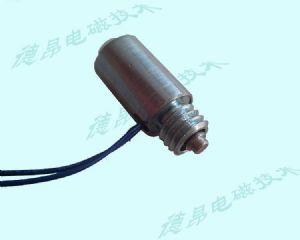 3mm行程推拉式电磁铁/德昂10毫米直径电磁铁定制