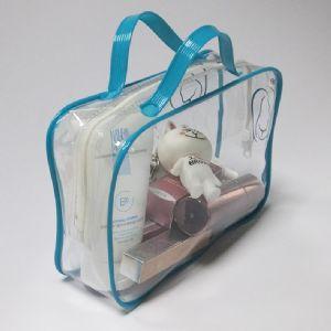 pvc拉链服装袋 pvc透明服装包装袋厂家直销可来样定制