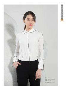 高端时尚女士衬衫雪纺衬衫正装职业装工作服定制