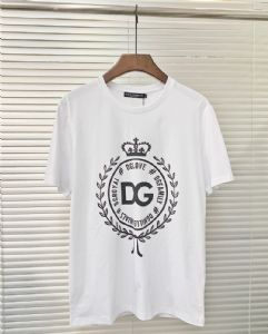 D&G 2018新款男装短袖T恤一件代发高档男装可以零售