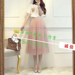 女装网纱裙套装一手货源一件代发图片