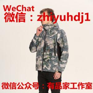 北面supreme联名款东京迷彩户外冲锋衣批发代理 一件代发货图片