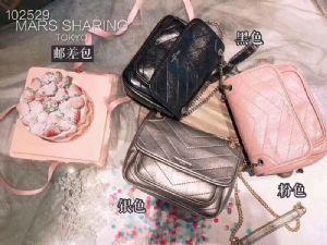 日本邮差包流浪包女款链条包单肩包斜挎包