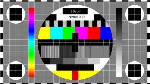 电视机 显示器测试图 1080P 720P
