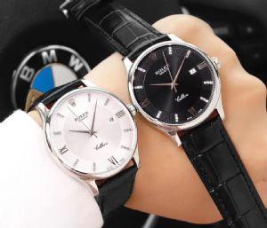 男士皮表带全自动机械手表 时尚商务男表