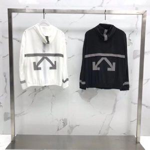 off-white 19SS新款皮肤衣情侣防晒服 3M反光L