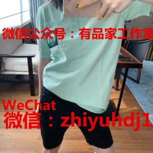 代工厂直销miu miu缪缪夏季服装Polo衫批发代理货 代发图片
